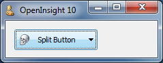 Split-Button without separator