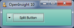 Left-aligned Split-Button