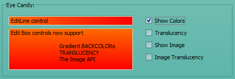 EDIT Control with Gradient BACKCOLOR