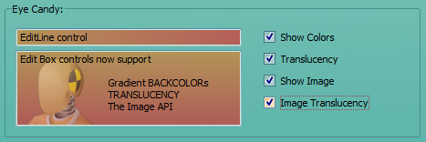 EDIT Control with translucent background image
