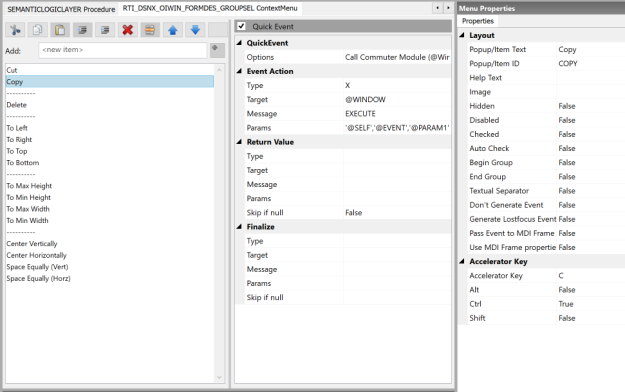 Context Menu Designer (WIP)
